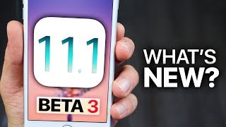 iOS 11.1 Beta 3 Released! What