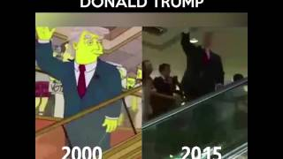 Creepily Accurate Prediction - Donald Trump Simpsons Episode