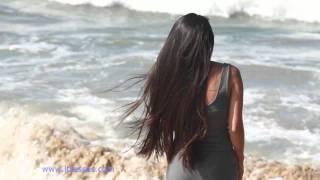 Emme on a Ltress California videoshoot on Long Beach beach !  - june 2011