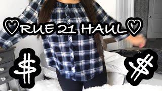 ♡ RUE21 TRY ON  HAUL ♡
