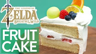 HOW TO MAKE ZELDA FRUITCAKE (Breath of the Wild) - NERDY NUMMIES