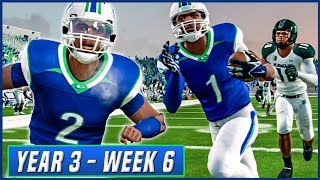 NCAA Football 14 Dynasty Year 3 - Week 6 vs Hawaii  | Ep.42