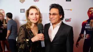 Red Carpet Premiere of American Wrestler : The Wizard