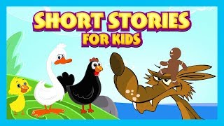 Short Stories For Kids - Part 2|| Animated English Stories For Children || Tia and Tofu Storytelling