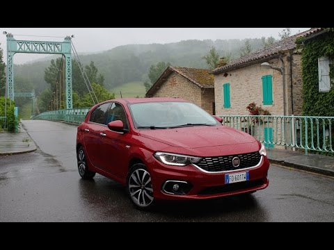 2016 fiat tipo 5 portes essai video une vraie bonne affaire avis vidoemo emotional. Black Bedroom Furniture Sets. Home Design Ideas