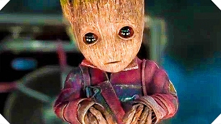"GUARDIANS OF THE GALAXY 2 - ""Baby Groot is Awesome"" - TV Spot (Marvel Movie, 2017)"