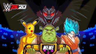SummerSlam con sfida a 3 MEME per il WWE Meme Championship! - WWE 2K20