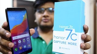 Honor 7c Unboxing & First Impressions !
