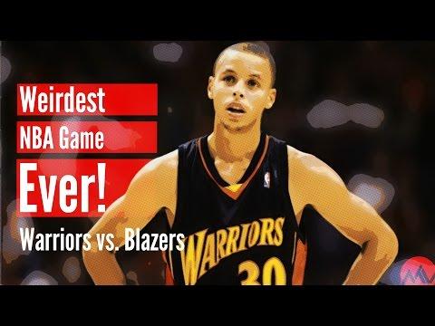 The Weirdest NBA Game Ever! (Warriors