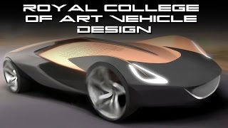 Royal College of Art Vehicle Design - Behold The Future