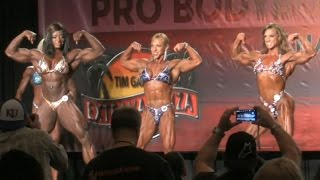 Women's Bodybuilding First Callout IFBB Tampa Pro 2014
