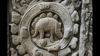 DINOSAUR CARVING IN ANGKOR WAT