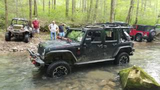 Jeep USA - Off road in Sequatchie, TN