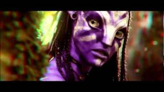 Avatar 3D Anaglyph Red-Cyan - Stereoscopic Trailer