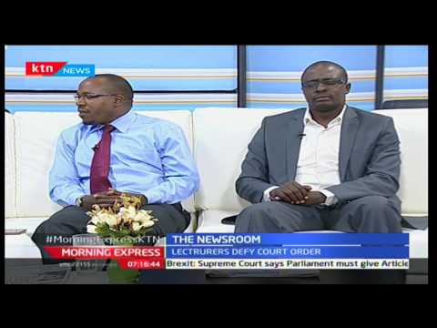 Morning Express: The News Room Chat with David Ohito, Crispus Yankem, Eric Latiff and Susan Auma