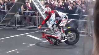 STEVE COLLEY MOTORCYCLE STUNT SHOW