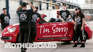 Faking Volkswagen's Dieselgate Apology with the Yes Men