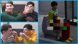 Dan and Phil Play: Sims 4 - Best Moments (#1-10)