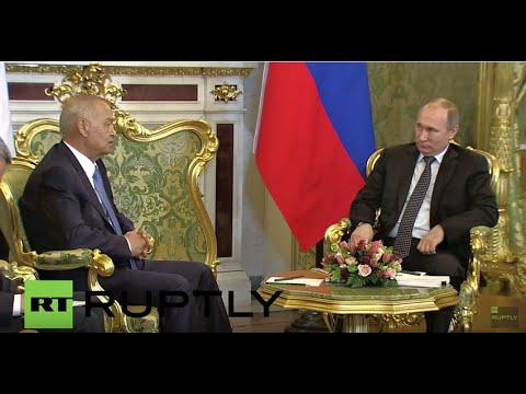 Russia: Putin talks bilateral ties with Uzbek Pres. Karimov