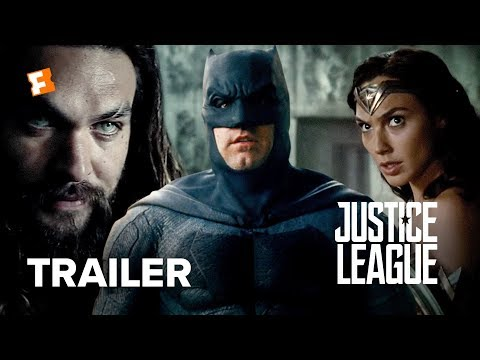 Justice League Official Comic Con Trailer 2017 Ben Affleck Movie