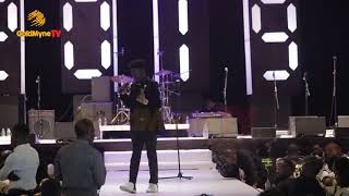KENNY BLAQ'S PERFORMANCE AT ALIBABA JANUARY 1ST CONCERT 2019