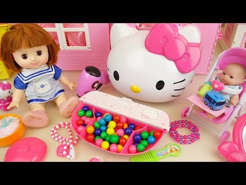 Xxx Mp4 Baby Doll And Hello Kitty Candy Beauty Box Toys Play 3gp Sex