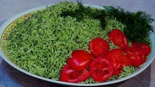 Zamarod Pulao -  Spinach with Rice Recipe