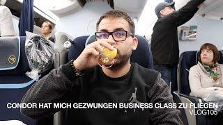 Condor hat mich gezwungen Business Class zu fliegen