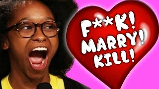 A Boyfriend Played F***, Marry, Kill With His Girlfriend And Two Other Girls