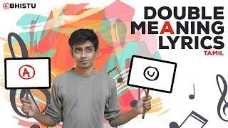 Double Meaning Lyrics - Tamil | Abhistu