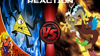BILL CIPHER vs DISCORD! Cartoon Fight Club Episode 26 Reaction