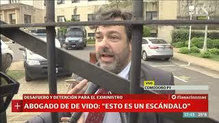 Habla el abogado de De Vido tras la detención - Café de la Tarde