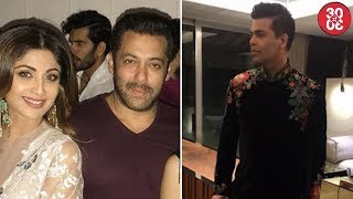 Bollywood At Arpita's Diwali Bash | Navya, Shweta Bachchan At Sandeep Khosla