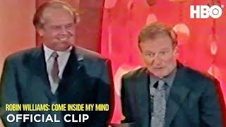 Jack Nicholson & Robin at the Critics' Choice Awards   Robin Williams: Come Inside My Mind   HBO