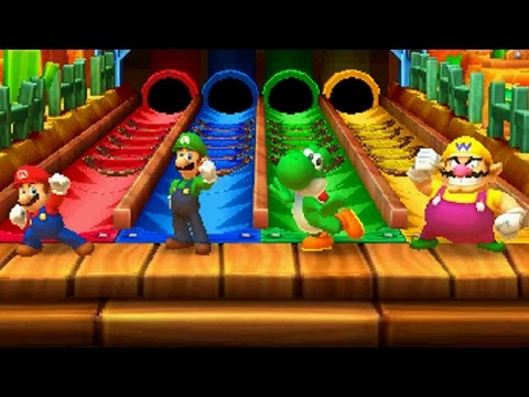 Mario Party Star Rush All Free for All Minigames