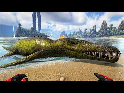 Xxx Mp4 ARK The Center MOD 2 Bắt Được Thủy Quái Khổng Lồ Liopleurodon 3gp Sex