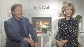 BOOK CLUB interviews - Fonda, Johnson, Keaton, Garcia, Bergen, Steenburgen, Craig T Nelson
