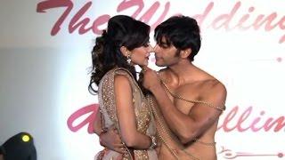 OMG!  Karanvir Bohra Kisses Model On Ramp