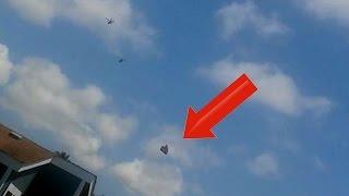 STUNNING!! Apache Helicopters Intercept UFO Over Ventura CA 5/8/2016