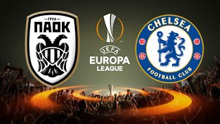 FIFA 18 PAOK VS CHELSEA EUROPA LEAGUE