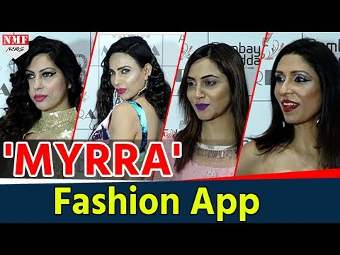 Xxx Mp4 Arshi Khan Pooja Misra Others Celebs At MYRRA Fashion App 3gp Sex