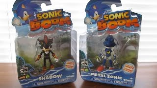 SHADOW & METAL SONIC - Tomy Sonic Boom Wave 4, 3