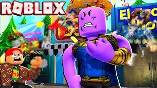 THANOS TROLLING RANDOM ROBLOX PLAYERS (With Admin Commands)