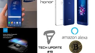 Tech Updates #19 - Samsung Galaxy S9 Launch Date, Honor 9 lite, Vivo Under display Fingerprint
