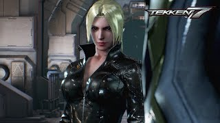 Tekken 7 All Nina Williams Scenes
