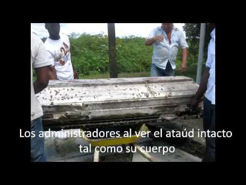 Intacta después de 4 años de su entierro