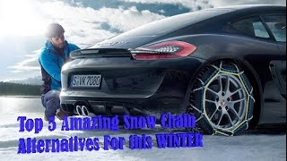 Top 5 Amazing Snow Chain Alternatives For this Winter