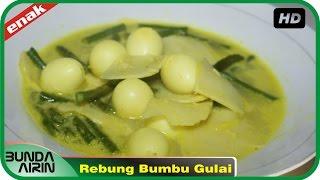 Resep Masakan Jawa Rebung Bumbu Gulai Mudah Simpel Resep Sehari Hari Recipes Indonesia Bunda Airin