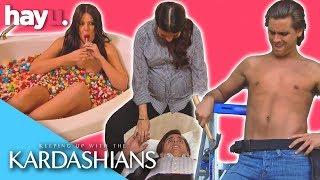 Flirting 101 With The Kardashians 💕   Keeping Up With The Kardashians