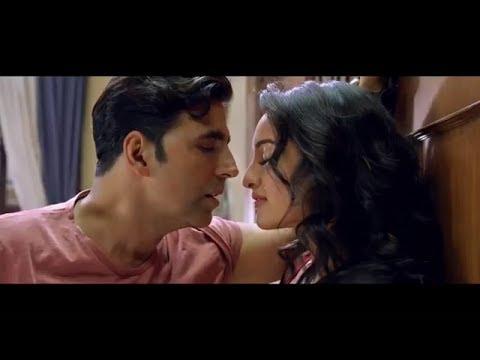 HOLIDAY Trailer 2014 - Hot - Akshay Kumar - Sonakshi Sinha Kiss